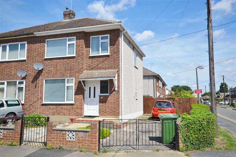 3 Bedrooms Semi Detached House for sale in Sandown Close, Wickford
