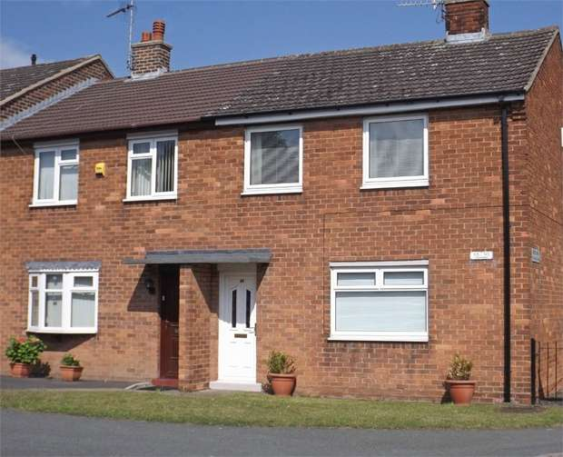 3 Bedrooms End Of Terrace House for sale in Bryn Offa, Wrexham