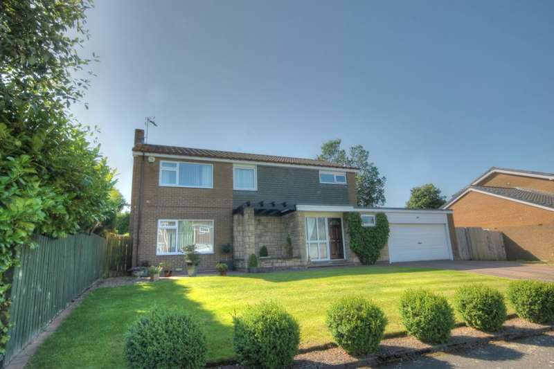 4 Bedrooms Detached House for sale in Mandarin Close, St Johns Estate, Newcastle Upon Tyne, NE5