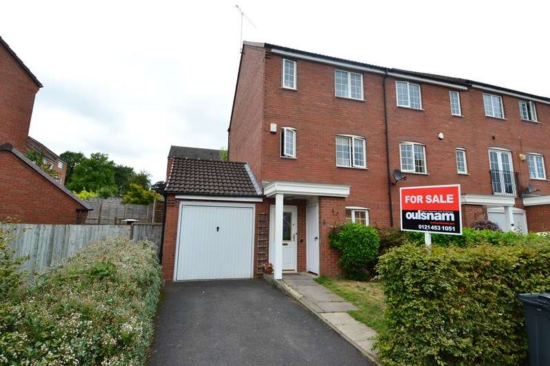 4 Bedrooms End Of Terrace House for sale in Elm Drive, Northfield, Birmingham