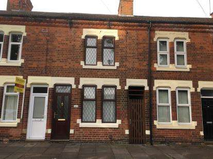 2 Bedrooms Terraced House for sale in Hughenden Drive, Aylestone, Leicester, Leicestershire