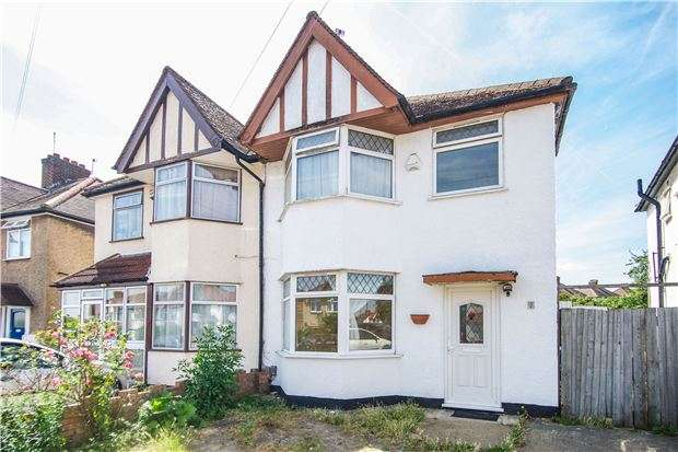 3 Bedrooms Semi Detached House for sale in Merlin Crescent, EDGWARE, Middlesex, HA8 6JL