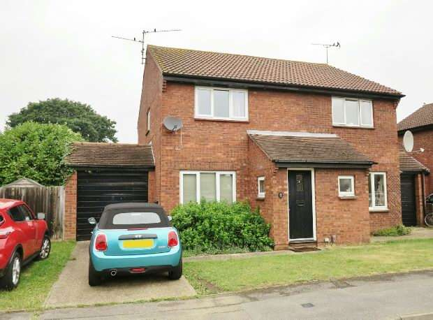 2 Bedrooms Semi Detached House for sale in Easington Drive, Lower Earley, Reading