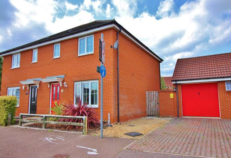 3 Bedrooms Semi Detached House for sale in Mountbatten Drive, Norwich