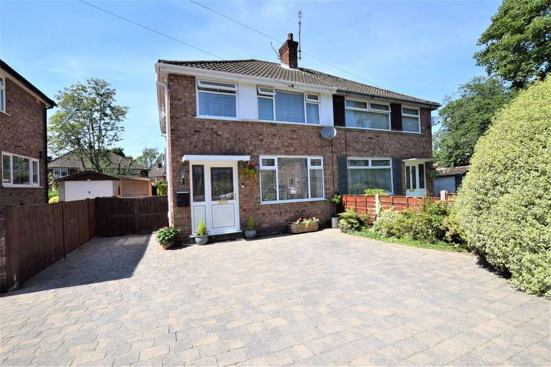 3 Bedrooms Semi Detached House for sale in Alderdale Road, Cheadle Hulme