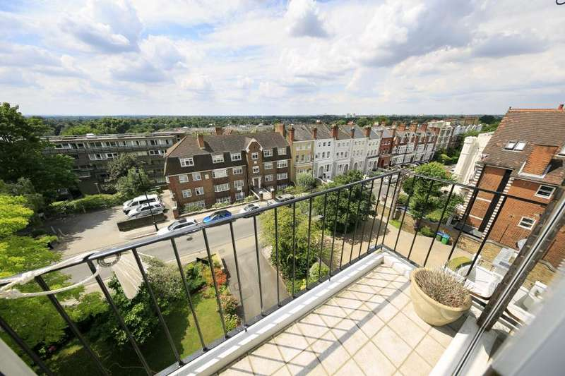 2 Bedrooms Flat for sale in Priors Lodge, Richmond Hill