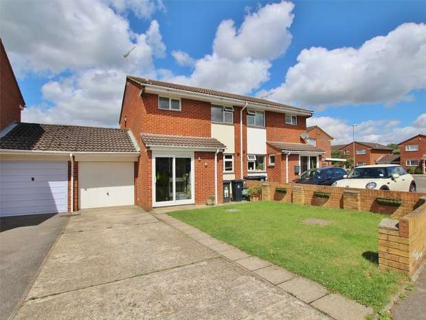 3 Bedrooms Semi Detached House for sale in Frenchs Farm Road, Upton, POOLE, Dorset
