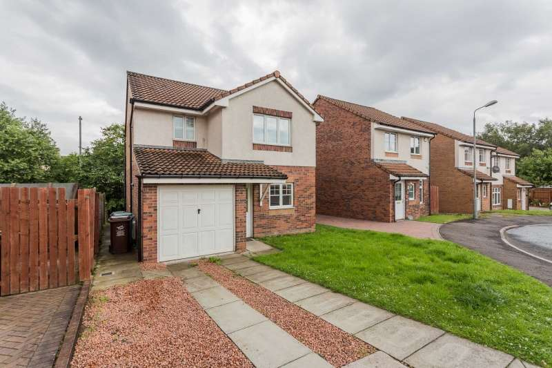 3 Bedrooms Detached House for sale in Thistlebank Gardens, Kirkshaws, Coatbridge, ML5 5FF
