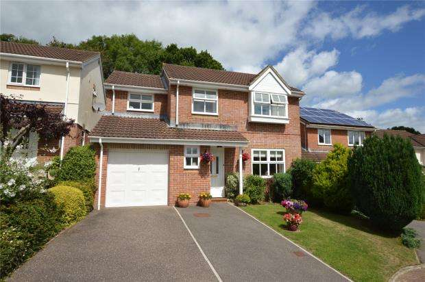 4 Bedrooms Detached House for sale in Willow Walk, Honiton, Devon