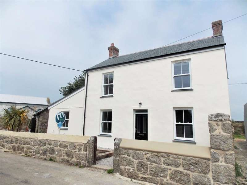 3 Bedrooms Detached House for sale in Wesley House, St Levan, Penzance