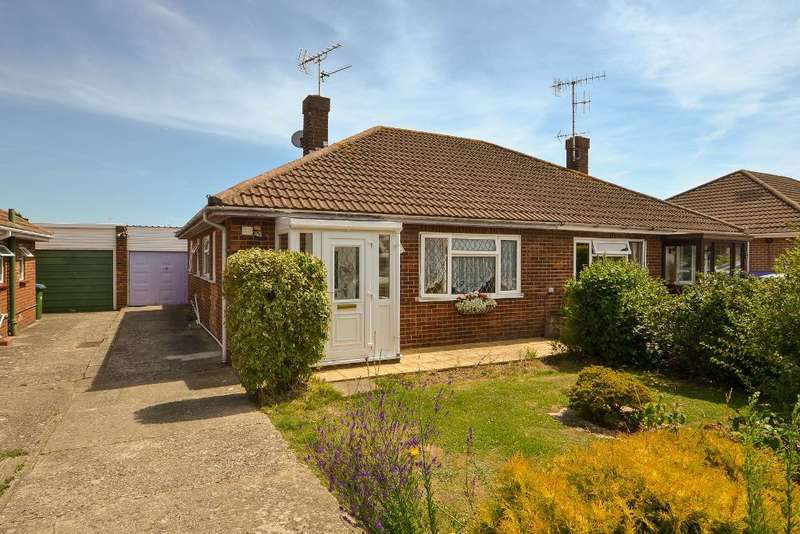 2 Bedrooms Bungalow for sale in Greenwood Close, North Bersted, Bognor Regis, West Sussex, PO22 9DG