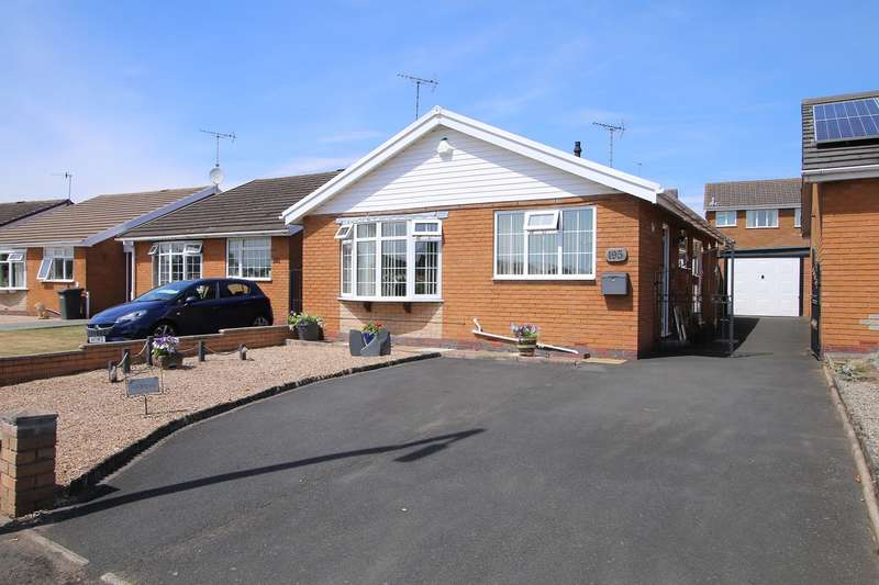 2 Bedrooms Detached Bungalow for sale in Tennyson Way, Kidderminster, DY10