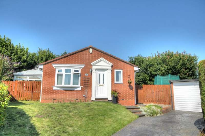 2 Bedrooms Detached Bungalow for sale in South Fork, Lemington Rise, Newcastle Upon Tyne, NE15