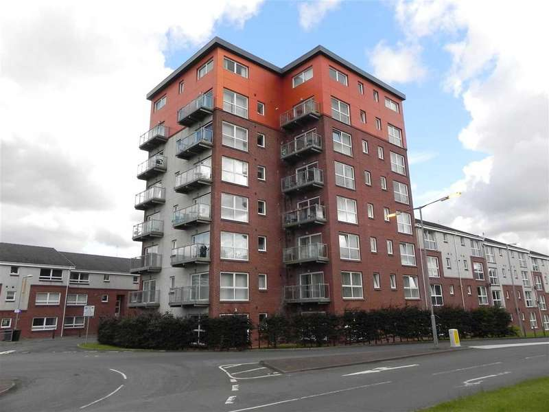 2 Bedrooms Apartment Flat for sale in Eaglesham Court, Hairmyres, Ocein Tower, EAST KILBRIDE