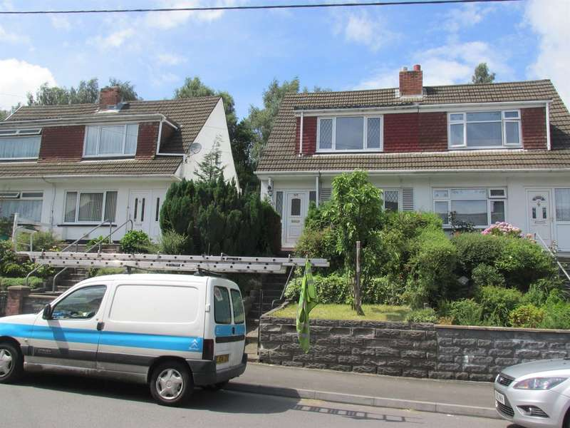 3 Bedrooms Semi Detached House for sale in Brynmair Road, Aberdare