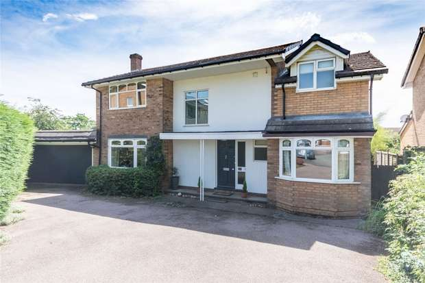 4 Bedrooms Detached House for sale in Hillside, Lichfield, Staffordshire