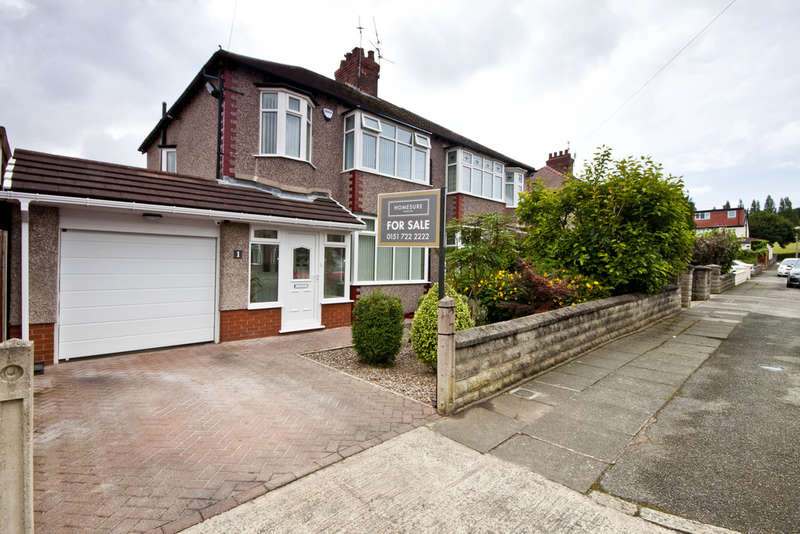 3 Bedrooms Semi Detached House for sale in Pinemore Road, Mossley Hill L18