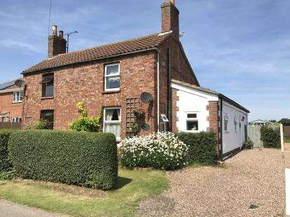 2 Bedrooms Semi Detached House for sale in St. Michaels Lane, Wainfleet St. Mary, Skegness, Lincolnshire