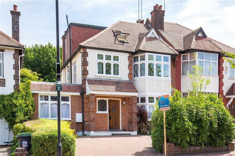 6 Bedrooms Semi Detached House for sale in Church Vale, East Finchley, London, N2