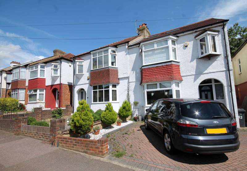 5 Bedrooms Semi Detached House for sale in Egmont Road, New Malden