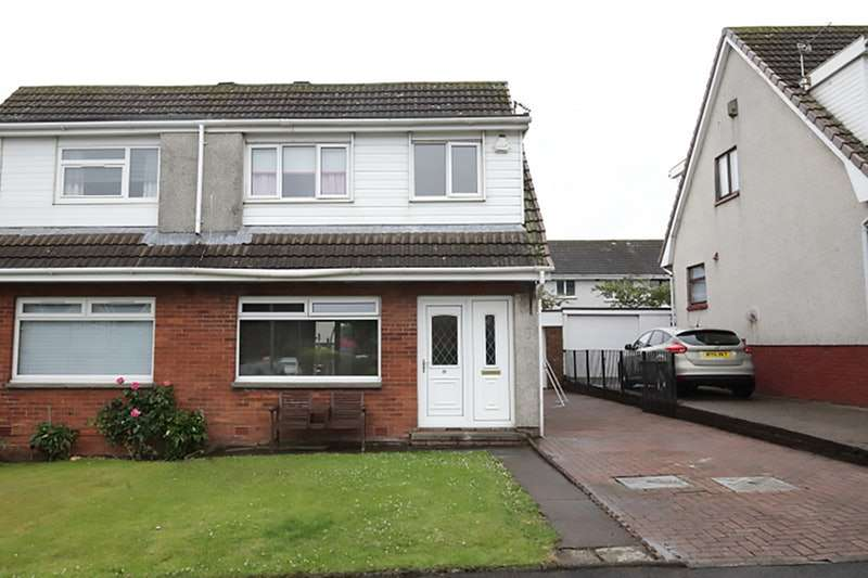 3 Bedrooms Semi Detached House for sale in Glenburn Gardens, Whitburn, West Lothian, EH47