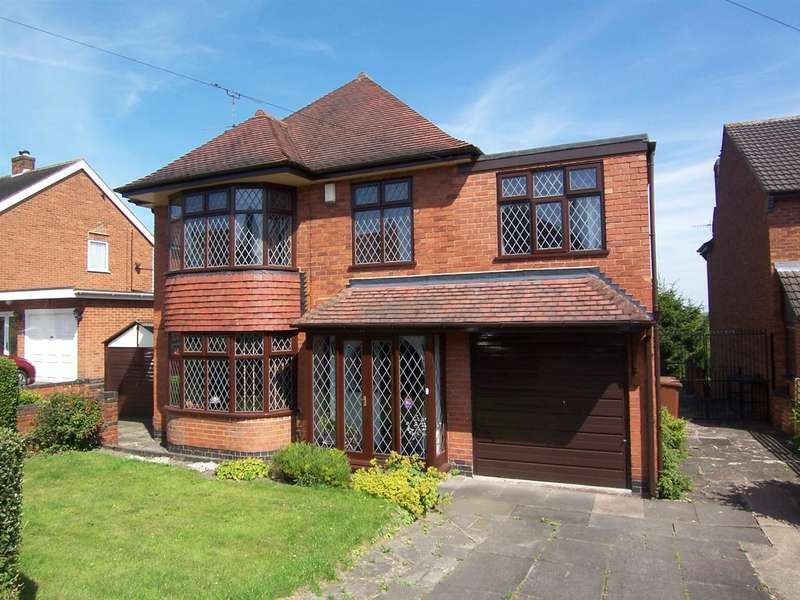 4 Bedrooms Detached House for sale in Garden Avenue, Ilkeston