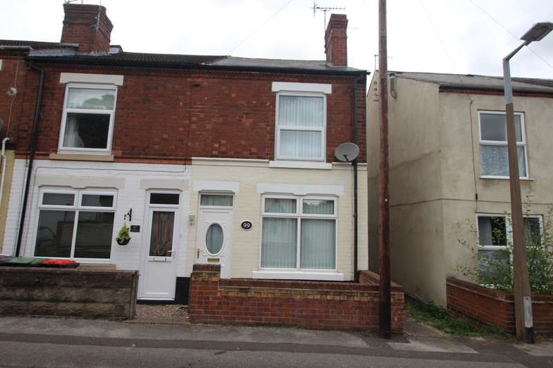 2 Bedrooms Property for sale in Frederick Road, Stapleford, Nottingham, NG9