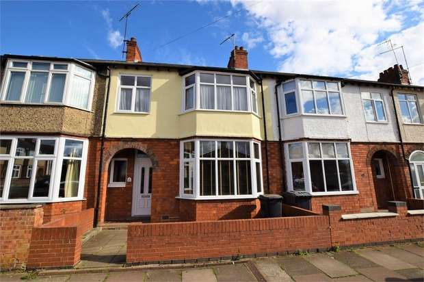 3 Bedrooms Terraced House for sale in Cedar Road East, NORTHAMPTON