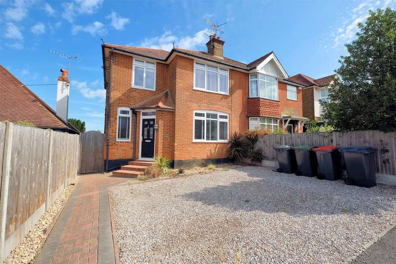 3 Bedrooms Semi Detached House for sale in Gloucester Road, Tankerton, WHITSTABLE, Kent