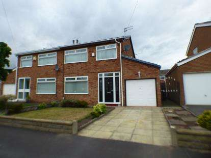 3 Bedrooms Semi Detached House for sale in Duddon Avenue, Maghull, Liverpool, Merseyside, L31