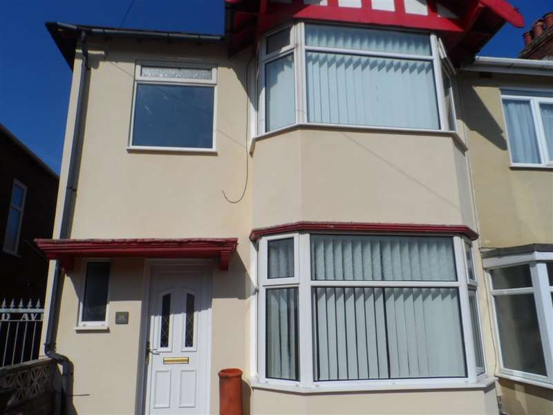 3 Bedrooms End Of Terrace House for sale in Wynnwood Avenue, Blackpool, FY1 2SA