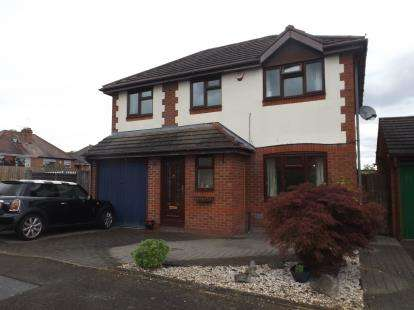4 Bedrooms Detached House for sale in Bishops Gate, Northfield, Birmingham, West Midlands