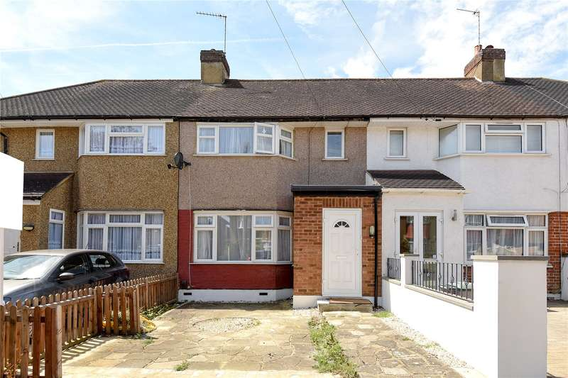 2 Bedrooms Terraced House for sale in Hillcroft Crescent, Ruislip, Middlesex, HA4