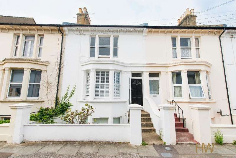 2 Bedrooms Maisonette Flat for sale in Goldstone Road, Hove, East Sussex, BN3 3RG
