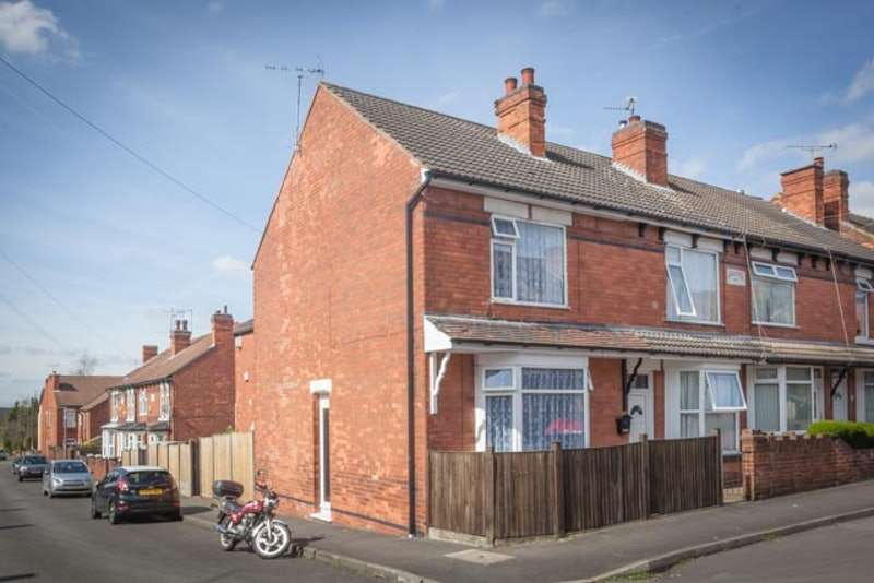 3 Bedrooms End Of Terrace House for sale in Forest Street, Nottingham, Nottinghamshire, NG17