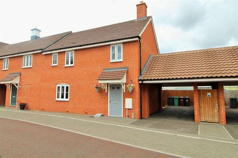 3 Bedrooms End Of Terrace House for sale in Wall Mews, Colchester