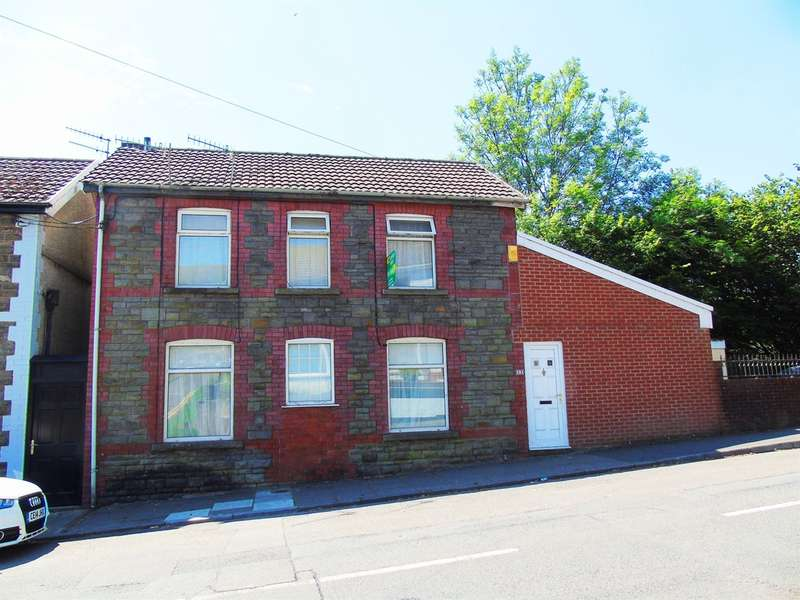 3 Bedrooms End Of Terrace House for sale in Cemetery Road, Porth