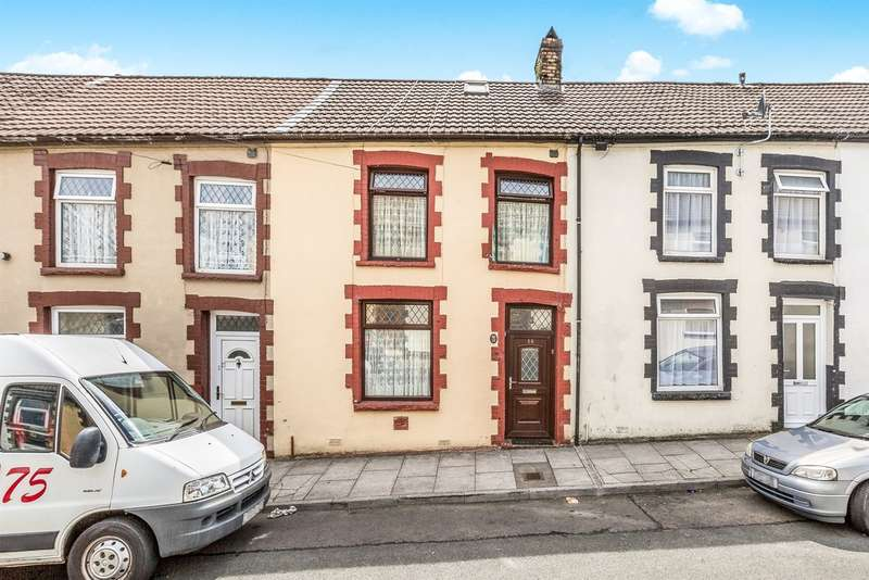 2 Bedrooms End Of Terrace House for sale in Maddox Street, Tonypandy