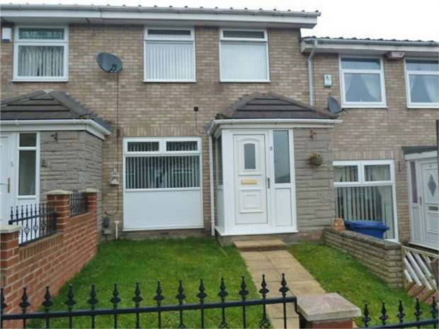 3 Bedrooms Terraced House for sale in Bruce Close, Newcastle upon Tyne, Tyne and Wear