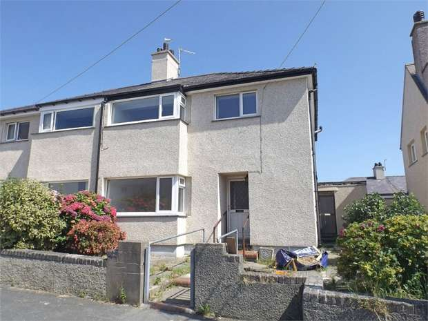 3 Bedrooms Semi Detached House for sale in Maes Yr Haf, Holyhead, Anglesey