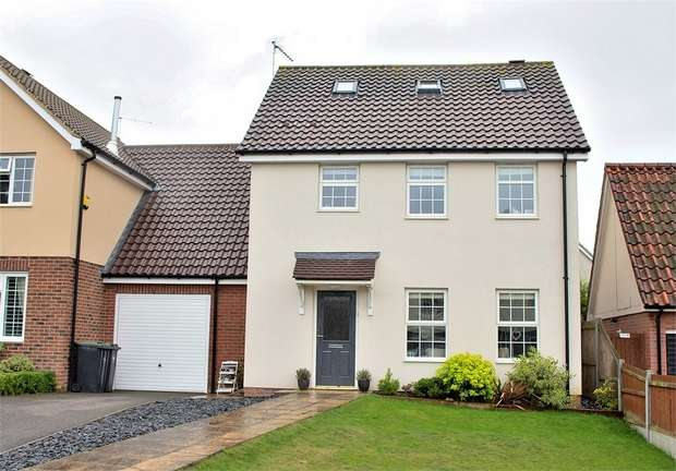4 Bedrooms Link Detached House for sale in Great Easton, Dunmow, Essex