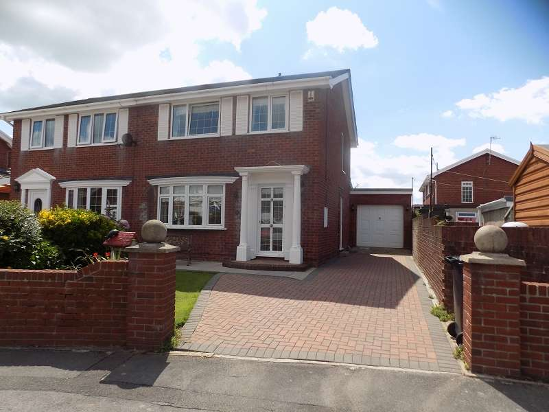 3 Bedrooms Semi Detached House for sale in Windsor Village , Baglan Moors, Port Talbot, Neath Port Talbot. SA12 7EY