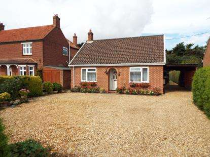 2 Bedrooms Bungalow for sale in Ingoldisthorpe, King's Lynn, Norfolk