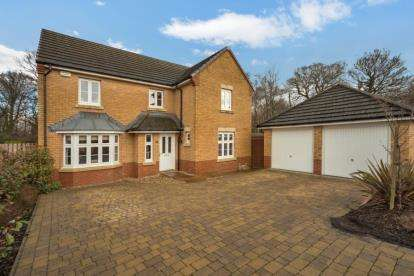 4 Bedrooms Detached House for sale in Philips Walk, Hamilton