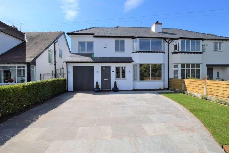 4 Bedrooms Semi Detached House for sale in Park Gates Drive, Cheadle Hulme