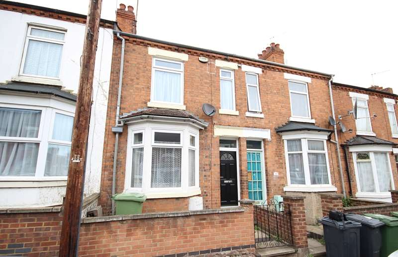 2 Bedrooms Terraced House for sale in Knox Road, Wellingborough, Northamptonshire. NN8 1QB