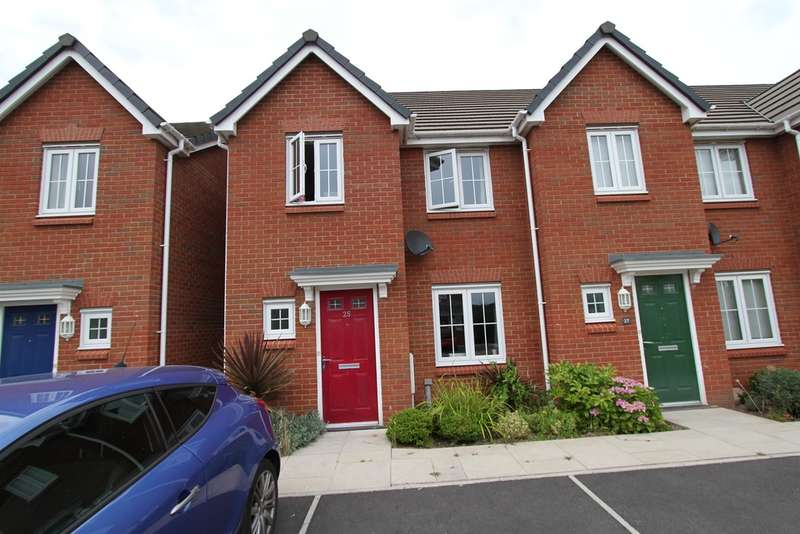 3 Bedrooms End Of Terrace House for sale in Clos Honddu, Bettws, Newport
