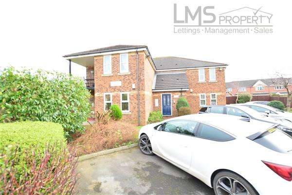 1 Bedroom Apartment Flat for sale in Flat 3, Maple Court, Winsford