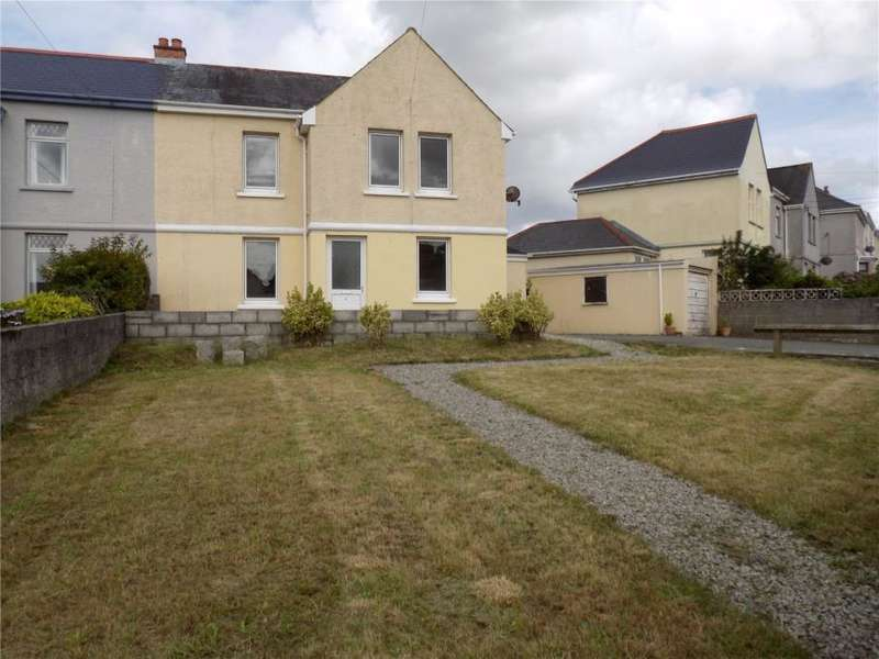 3 Bedrooms Semi Detached House for sale in Robartes Road, St Dennis, Cornwall