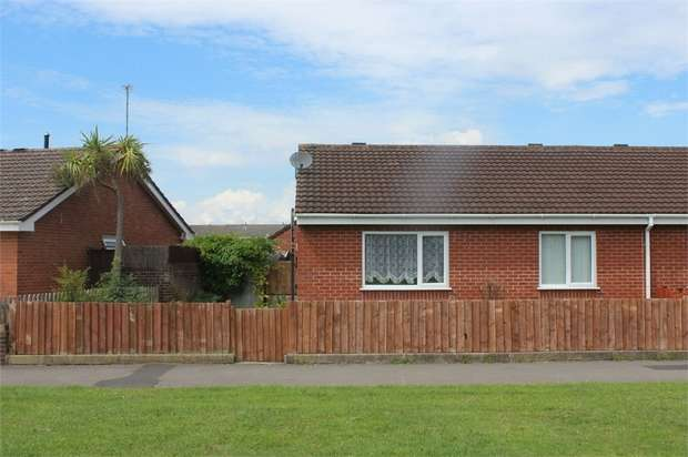 2 Bedrooms Semi Detached Bungalow for sale in Lime Close, Weston-Super-Mare, Somerset